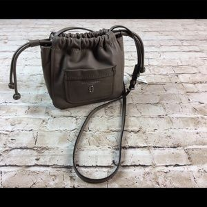 Marc Jacobs Tied Up Crossbody Leather Bucket Bag